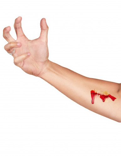 Tattoveringskit og snydeblod Halloween-2