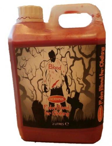 Falsk blod til tekstil Halloween