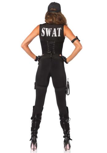 Kostume SWAT sexet kvinde-3