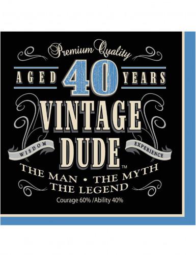 Vintage servietter 40 år