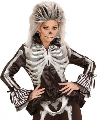 Skeletskjorte kvinde halloween