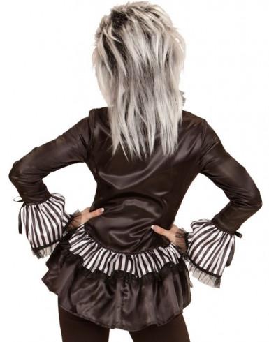 Skeletskjorte kvinde halloween-1