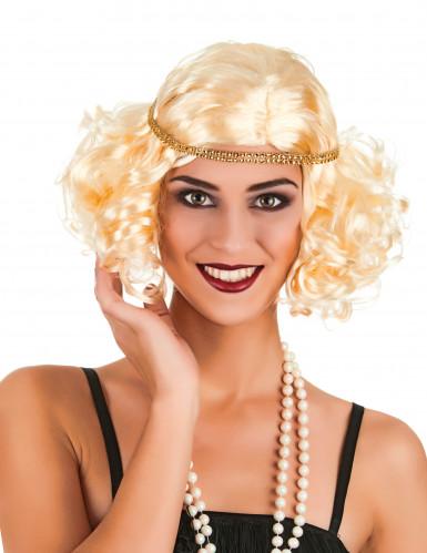 Blond Charlestonparyk dame
