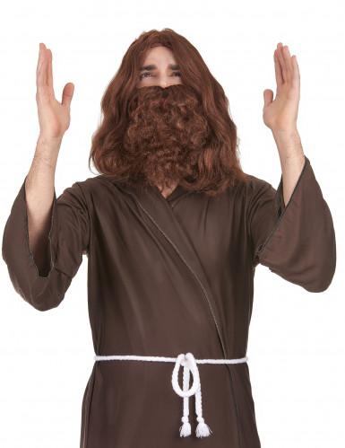 Jesusparyk med Skæg Voksen