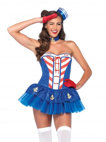 Kostume sexet marine til kvinder-1