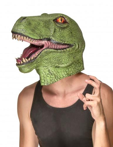Dinosaurmaske af Latex Voksen