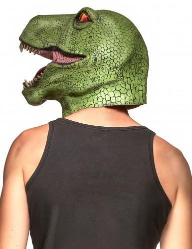 Dinosaurmaske af Latex Voksen-1