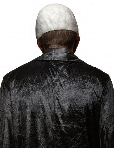 Skræmmende dødningehoved af Latex Halloween-1