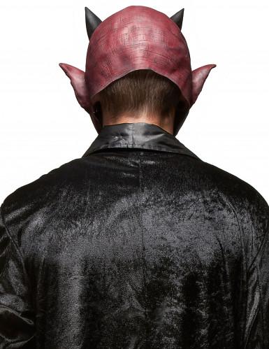 Dæmonisk Skabning Maske i Latex Halloween Voksen-1
