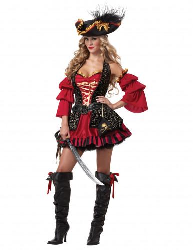Piratkostume til kvinder - Premium