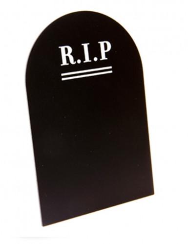 Menu gravsten gotisk