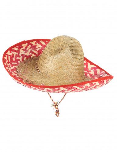 Mexicansk sombrero til voksne