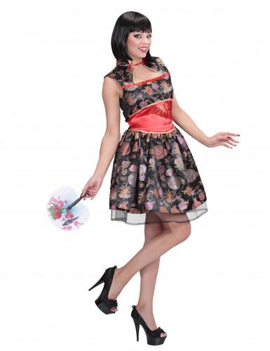 Kostume kinesisk kjole kvinde