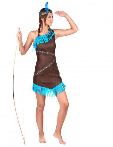Indianerdragt Kvinder-1