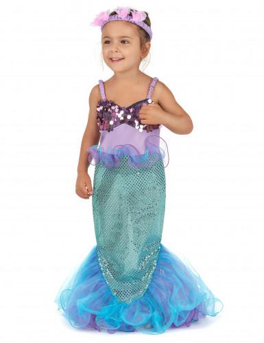 Havfrue - udklædning til børn-1