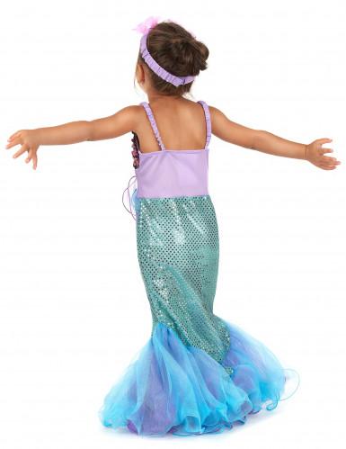 Havfrue - udklædning til børn-2