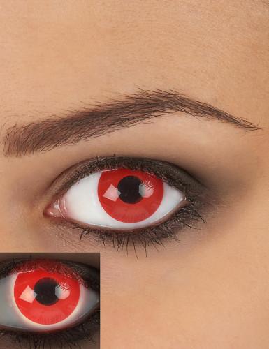 Kontaktlinser UV røde til voksne