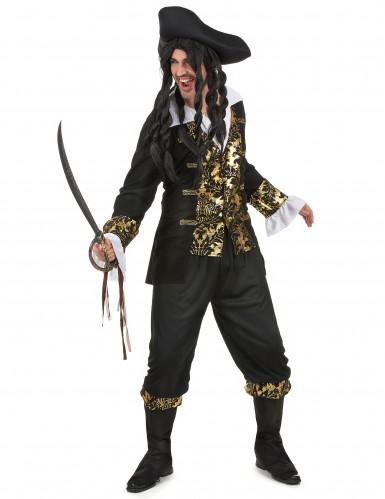 Mr. Gold - Piratkostume til mænd -1