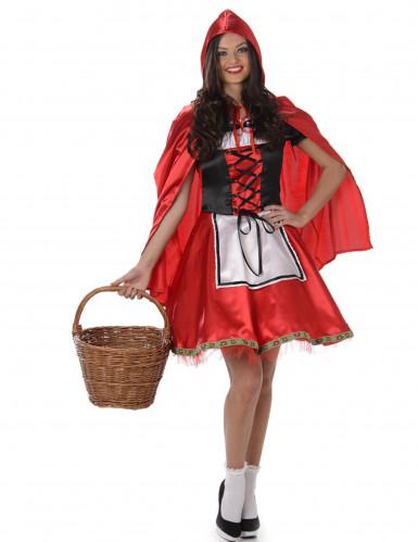 Kostume med rød hætte kvinde