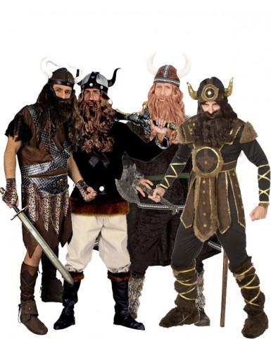 Gruppekostume vikinger til voksne