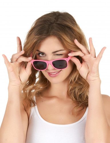 Briller blues neon lyserød til voksne-1