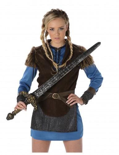 Vikingekvinde Blå-1