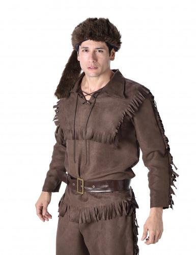 Pelsjæger Mand Kostume-1
