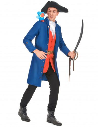 Piratkaptajn kostume til voksne -1