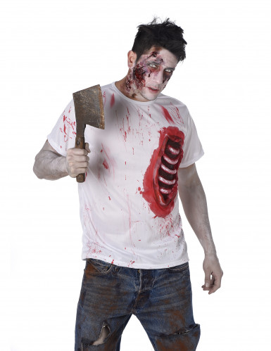 Zombiekostume med tarme Halloween-1