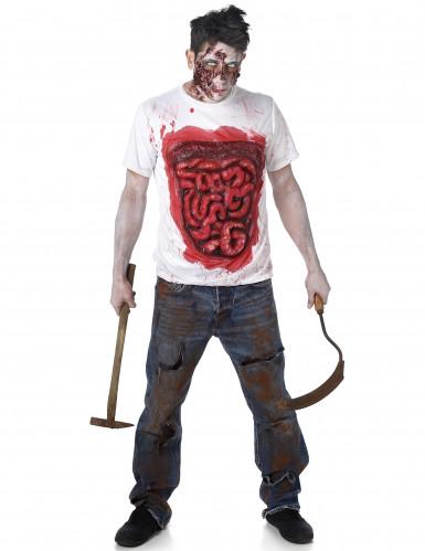 Zombiedragt med tarme Halloween