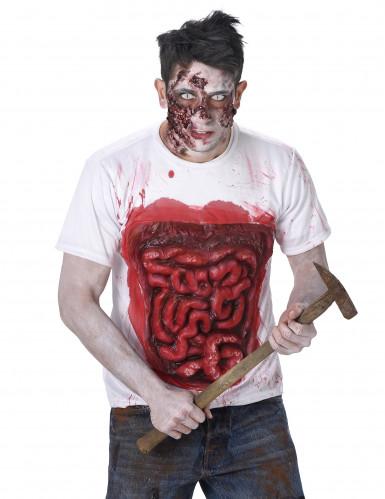 Zombiedragt med tarme Halloween-1