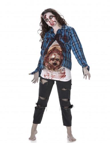 Zombiekostume med babyansigt Halloween
