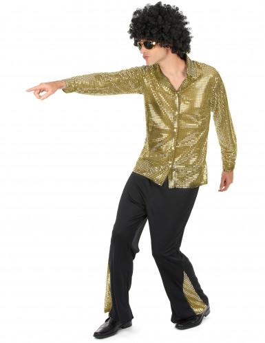 Gylden diskodragt Mand-1