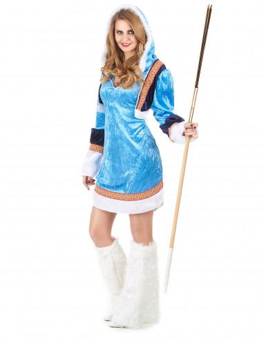 Sexet Eskimo kvinde kostume-1