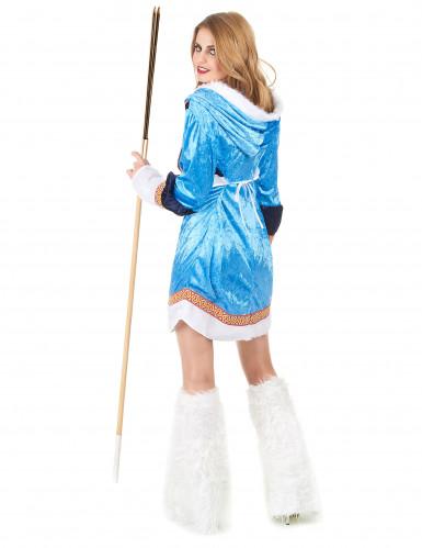 Sexet Eskimo kvinde kostume-2
