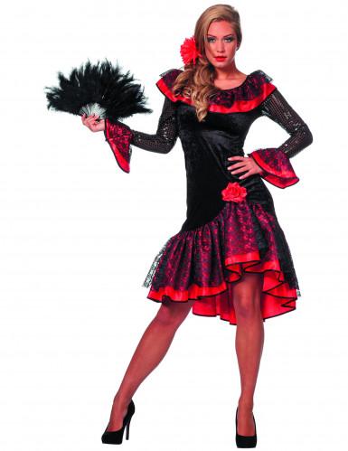 Spansk danser kvinde kostume