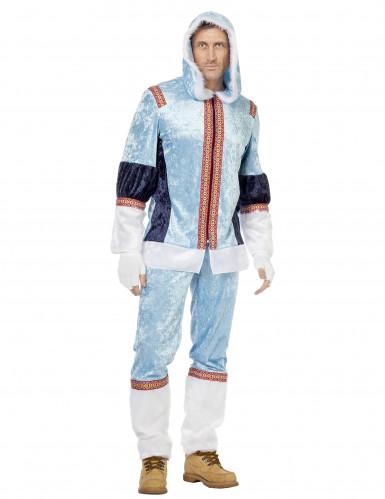 Eskimo kostume mand
