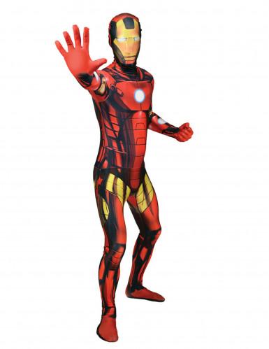 Kostume Morpsuits™ klassisk Iron Man voksen
