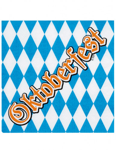 Oktoberfest 12 servietter 33 x 33 cm