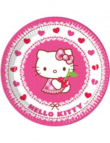 Hello Kitty™ tallerkener 8 stk