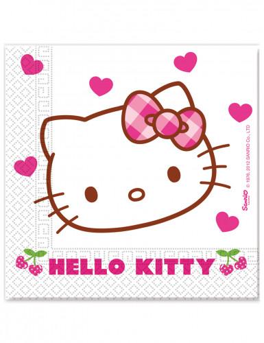20 Papirservietter Hello Kitty™