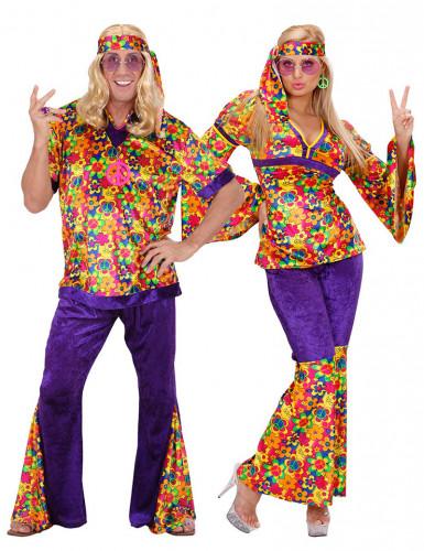 Parkostume hippie flower