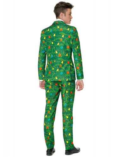 Jakkesæt Mr. Christmas grønt til mænd Suitmeister Jul-1