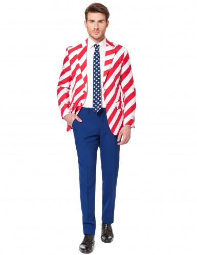 Jakkesæt Mr. America Opposuits™ kostume