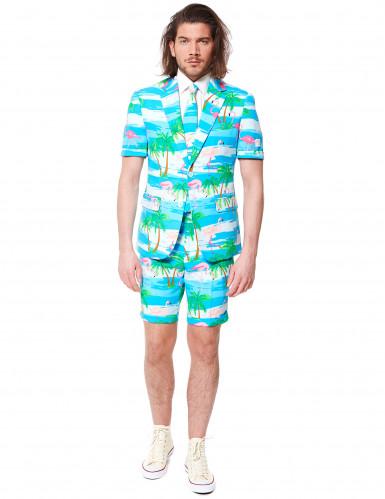 Jakkesæt sommer Mr. Flamingo Opposuits™ til mænd