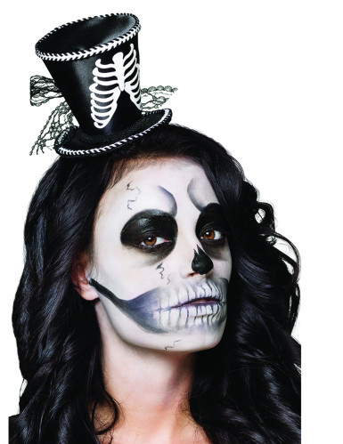 Mini hat skelet til Halloween