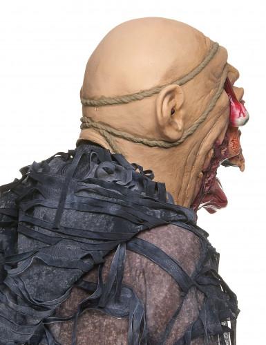 Latexmaske zombie voksen-1