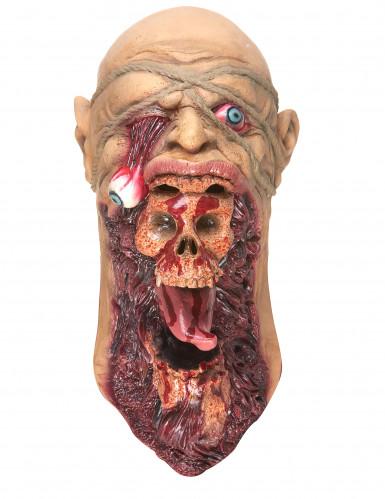 Latexmaske zombie voksen-2