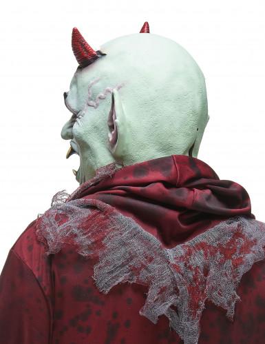 Latexmaske ond djævel voksen-1