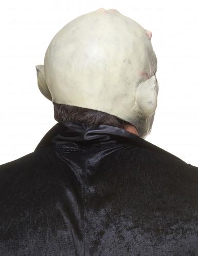 Latexmaske gnom med horn-2